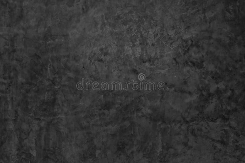 Une texture foncée de mur en béton pour le fond image libre de droits