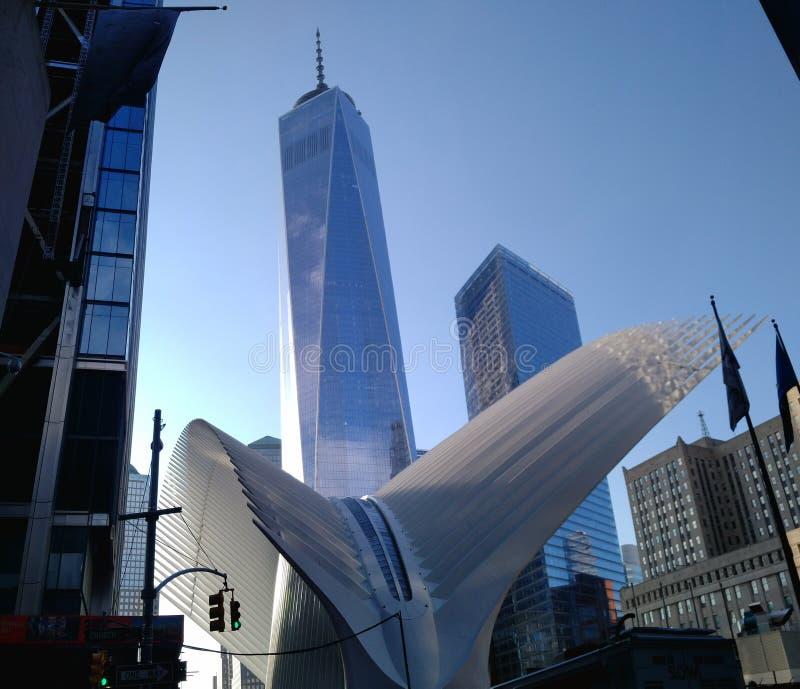 Une tour NYC du monde photographie stock libre de droits