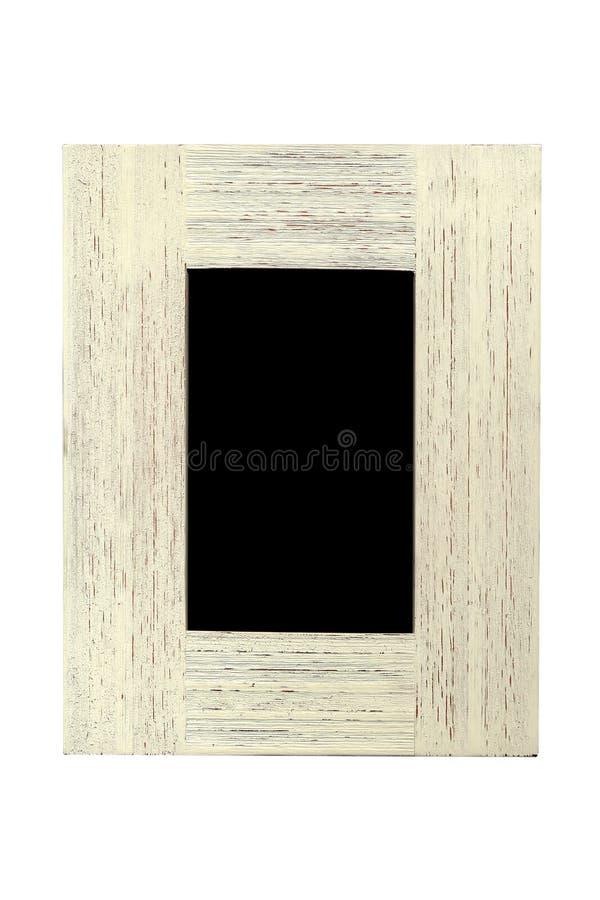 Une trame texturisée en bois image stock
