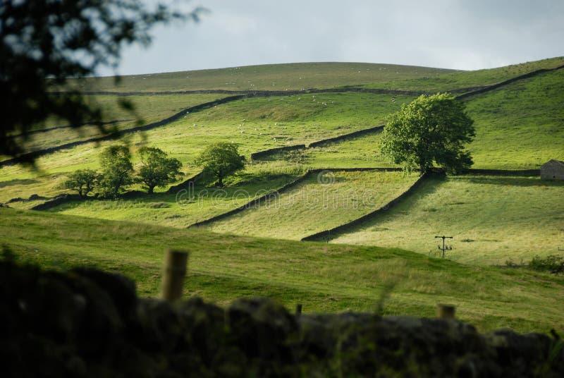 Une vallée de Yorkshire image libre de droits