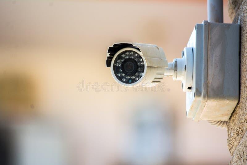 Une vidéo surveillance photo stock