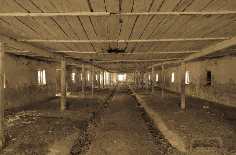 Une vieille ferme abandonnée pour Style abandonn? images libres de droits