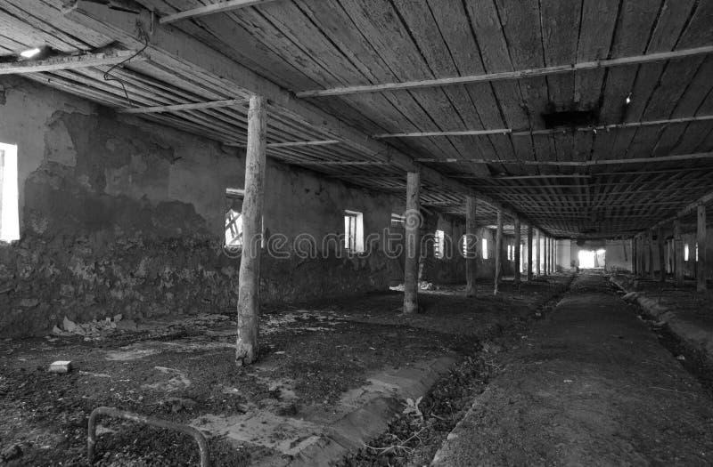 Une vieille ferme abandonnée pour Style abandonn? image stock