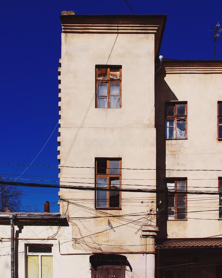 Une vieille maison à Odessa photo libre de droits