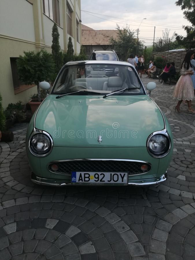 Une vieille voiture de beautidul photo stock