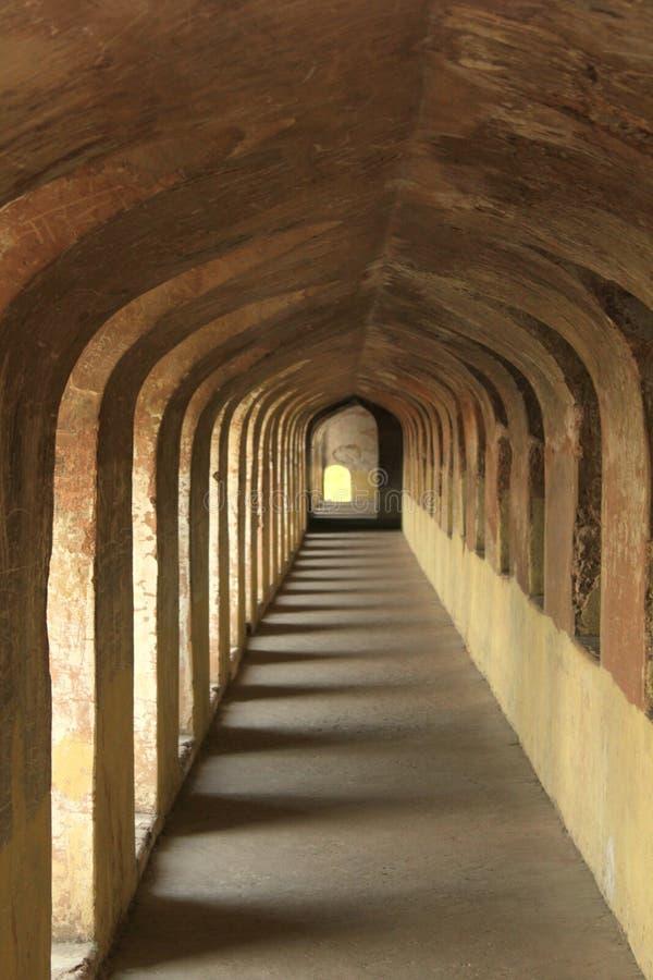Une visite à Lucknow, à la ville de Nawabs ayant les bâtiments riches d'héritage et également les structures contemporaines images stock