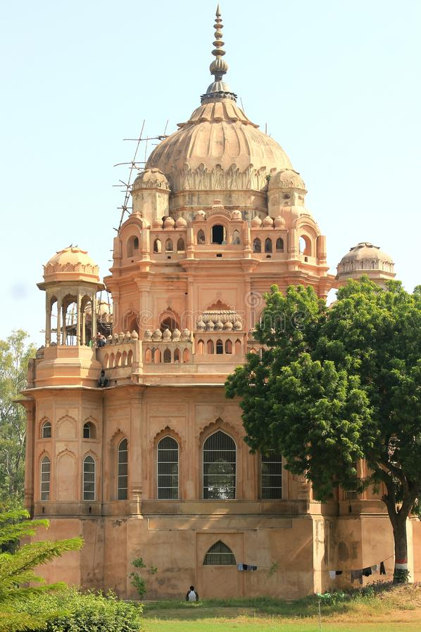 Une visite à Lucknow, à la ville de Nawabs ayant les bâtiments riches d'héritage et également les structures contemporaines photo stock