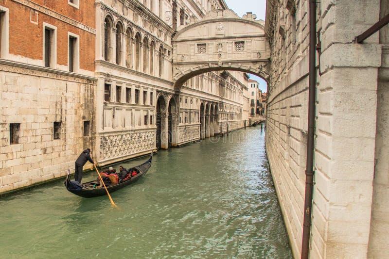 Une visite de Venise quand les touristes ne sont pas là images stock