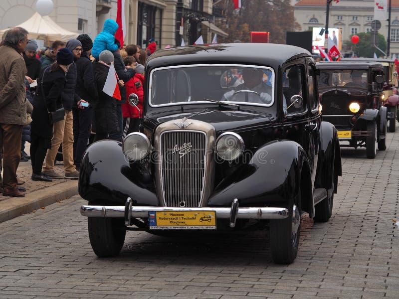 Une voiture du défilé images libres de droits