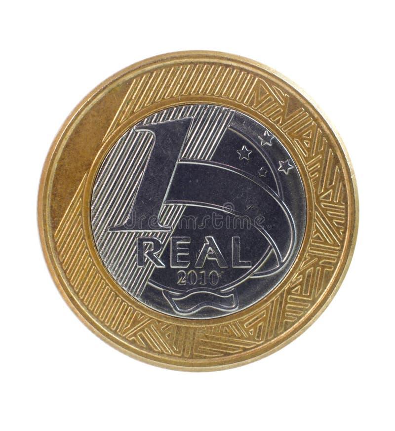 Une vraie pièce de monnaie photos libres de droits
