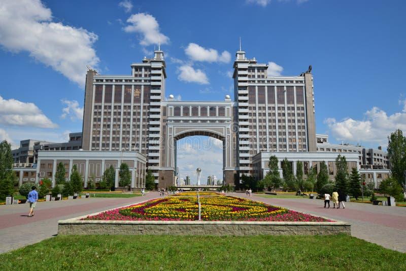 Une vue à Astana image libre de droits
