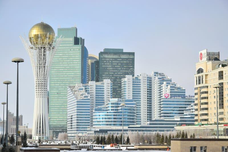 Une vue à Astana/Kazakhstan images libres de droits