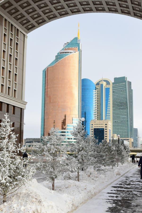 Une vue à Astana/Kazakhstan photo libre de droits
