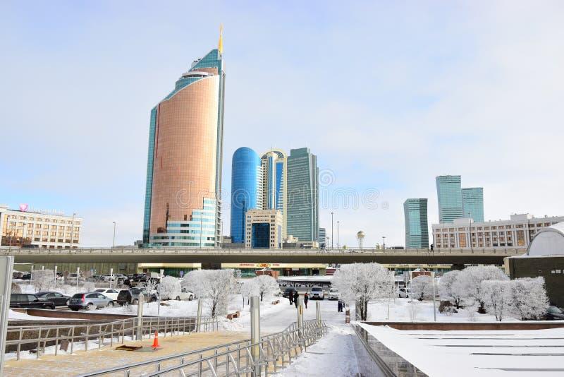 Une vue à Astana/Kazakhstan photographie stock