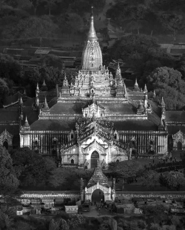 Temple d'Ananda - Bagan - Myanmar photo libre de droits