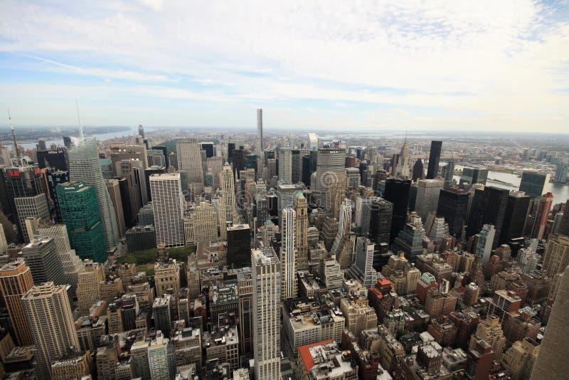 Une vue aérienne de New York photos stock