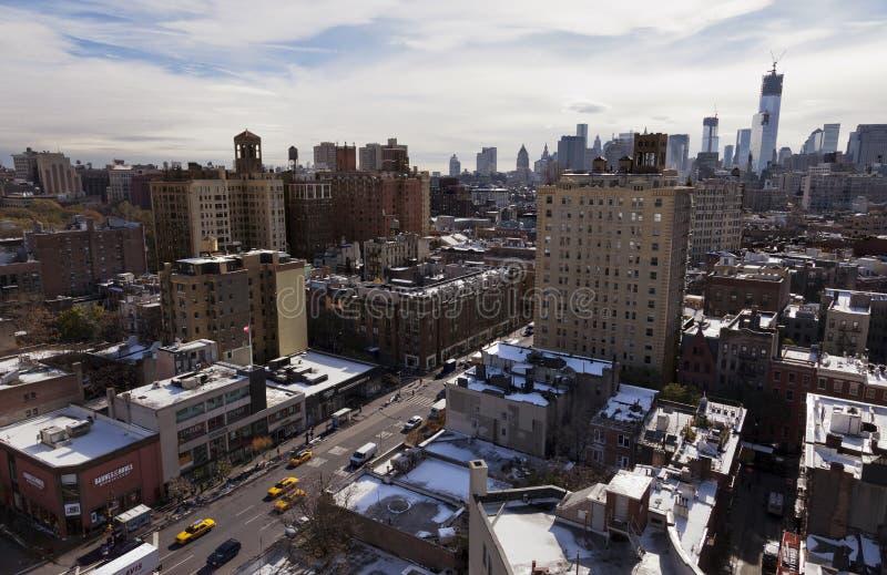 Rue de Greenwich à New York City image libre de droits