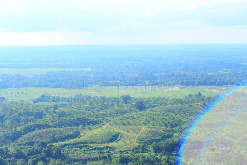 Une vue d'Assam photo libre de droits