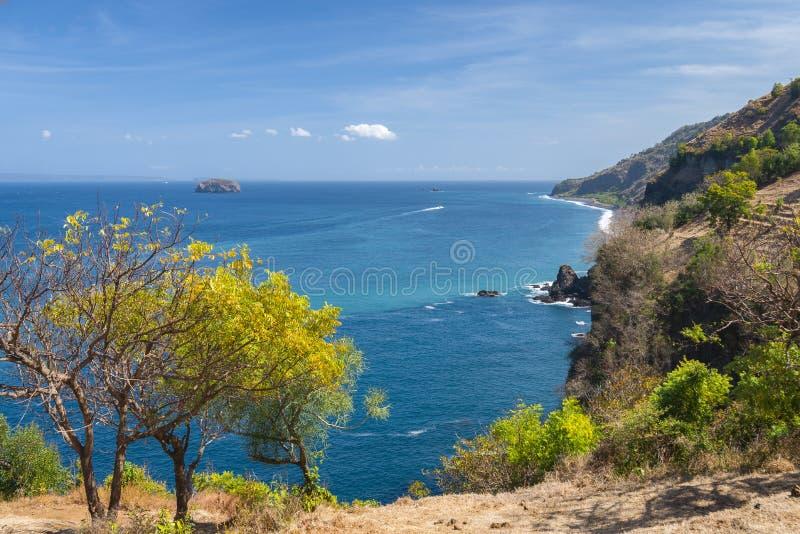 Une vue de Bukit Asah sur l'?le de Bali, Indon?sie photographie stock