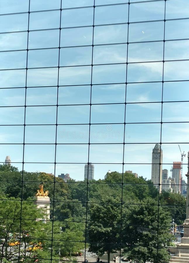 Une vue de Central Park photo stock