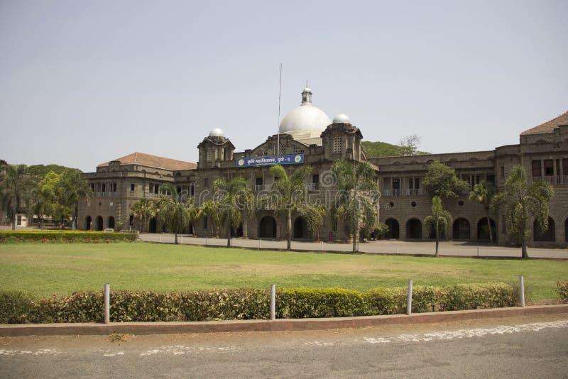 Une vue de l'université Pune, Inde d'agriculture de Phule de mahatma photographie stock libre de droits