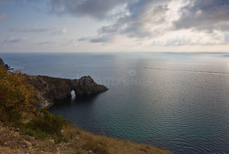 Une vue de la grotte de Diana images libres de droits
