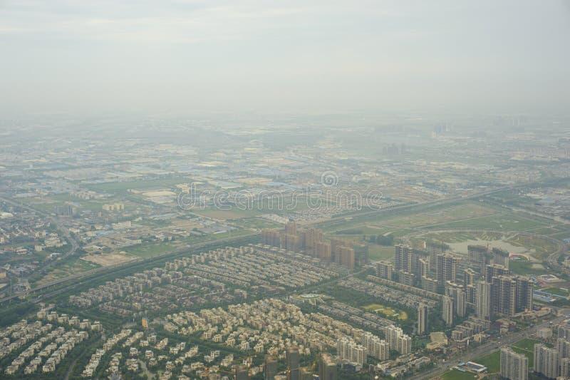 Une vue de primevère farineuse de ville image libre de droits