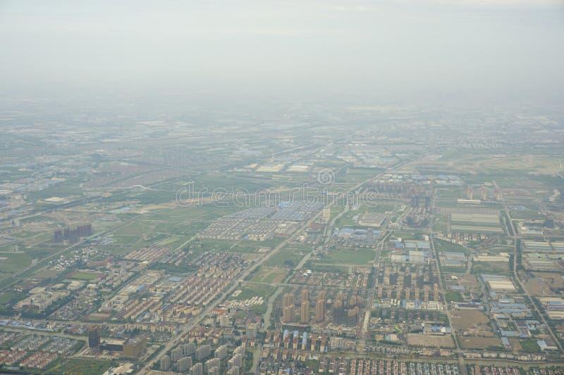 Une vue de primevère farineuse de ville photos libres de droits