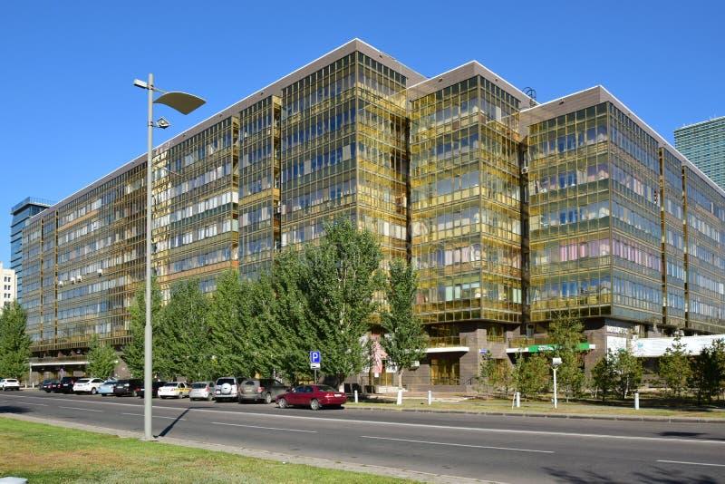 Une vue de rue à Astana photos libres de droits
