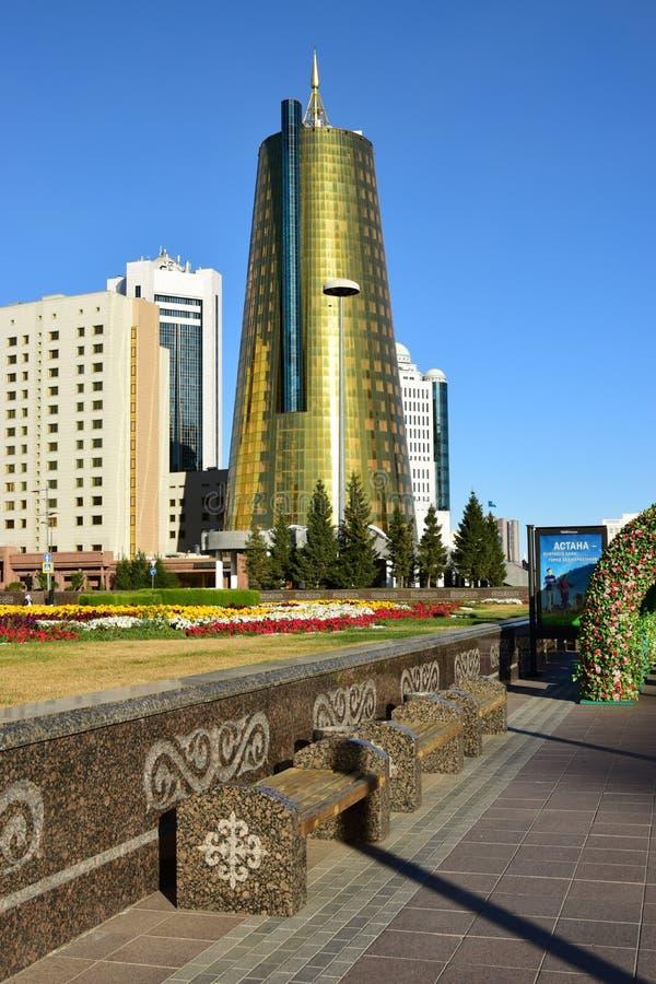 Une vue de rue à Astana photo stock