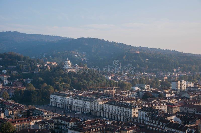 Une vue de Turin photos libres de droits