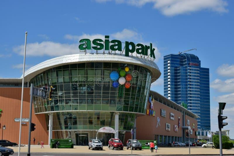 Une vue de ville d'Astana/de Kazakhstan photos libres de droits