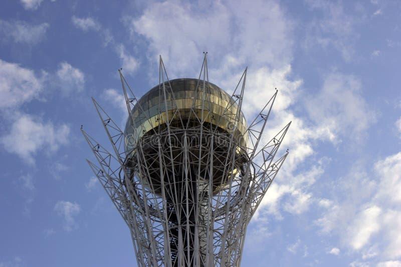 Une vue du Baiterek à Astana Kazakhstan photographie stock libre de droits