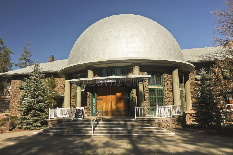 Une vue du musée rotunda de Slipher photographie stock libre de droits