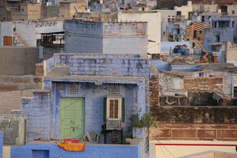 Une vue earial au-dessus de Jodhpur images stock