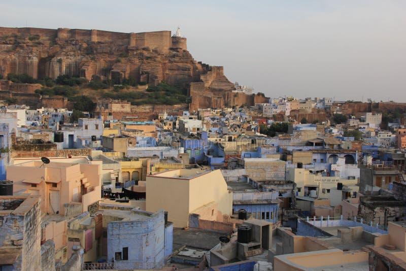 Une vue earial au-dessus de Jodhpur image stock