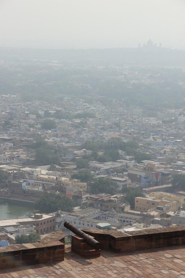Une vue earial au-dessus de Jodhpur photos stock