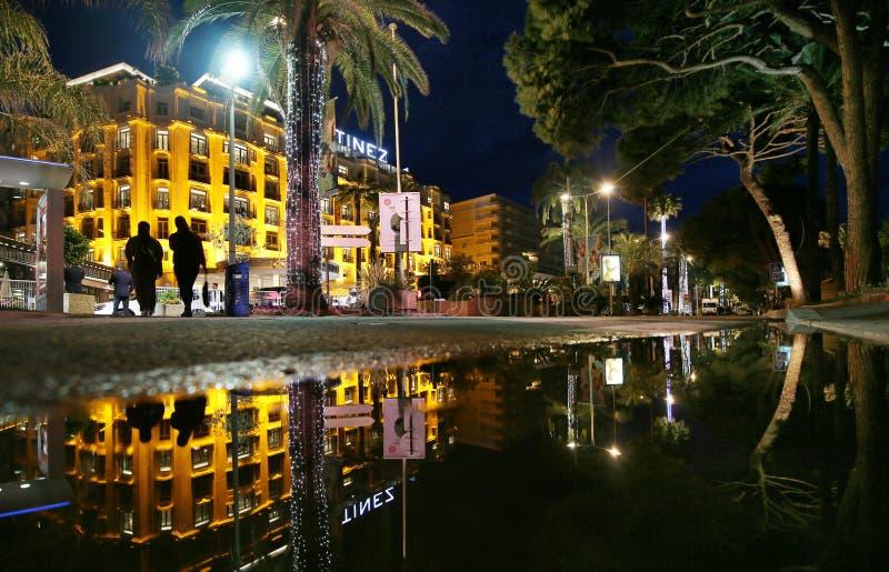 Une vue générale d'hôtel Martinez photographie stock libre de droits