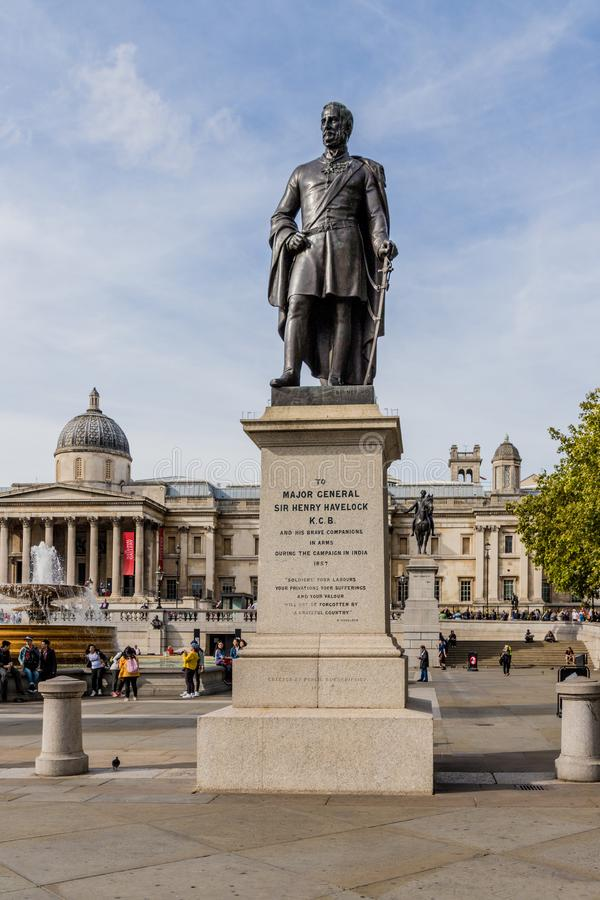 Une vue typique à Londres image stock