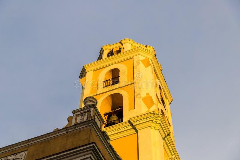 Une vue typique au Trinidad au Cuba image libre de droits