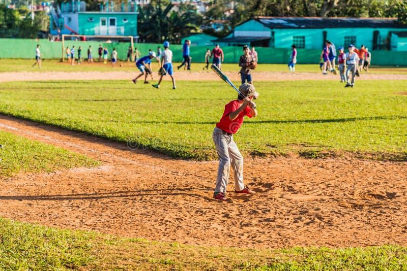 Une vue typique dans Vinales Cuba image libre de droits