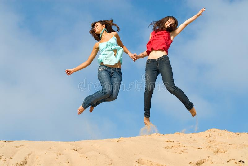 Unearthly Happiness Stock Photos