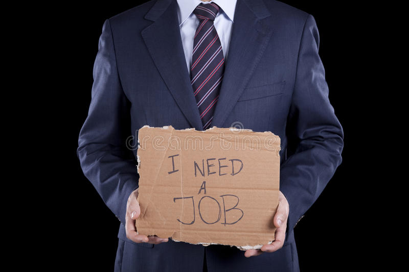 Download Unemployed Businessman Stock Photography - Image: 13614292