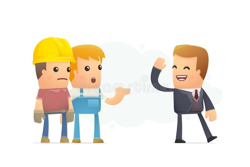 unemployment illustration libre de droits