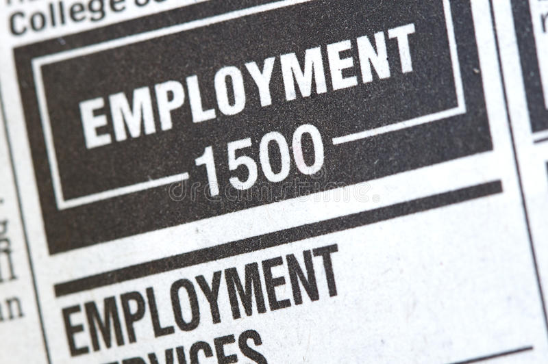 Download Unemployment News Royalty Free Stock Photos - Image: 10026878