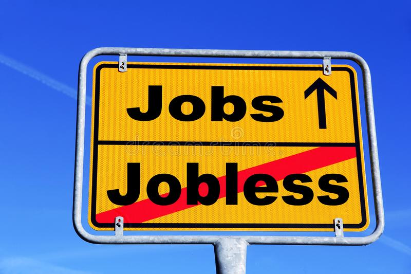 From unemployment to job stock images