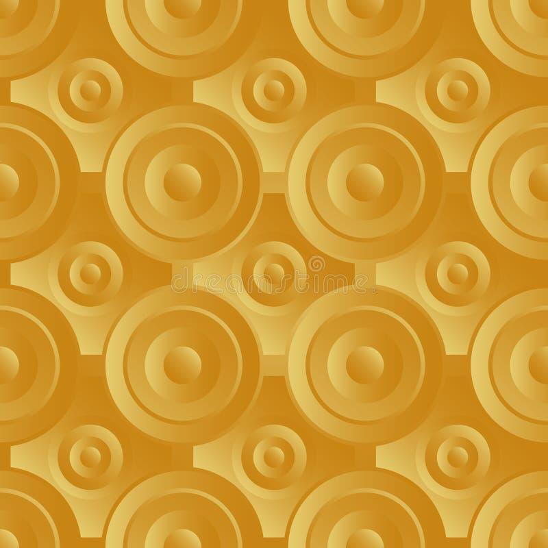 Download Unending raster gold stock vector. Image of interior - 35122716