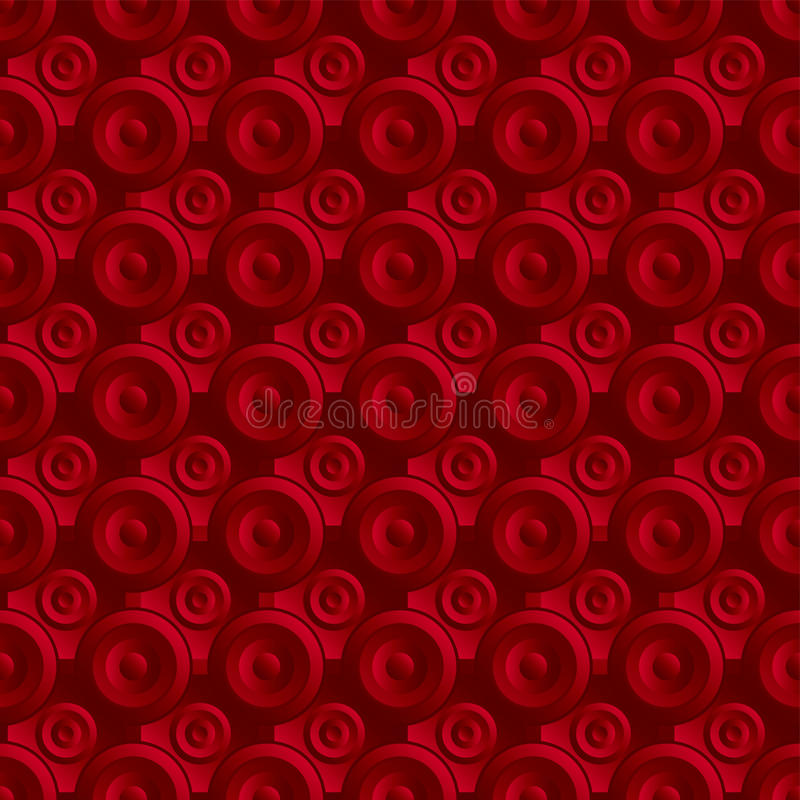 Unending Raster Red Stock Images