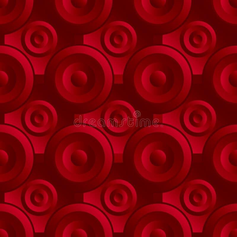 Download Unending raster red stock illustration. Illustration of pattern - 35092671