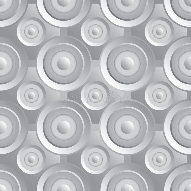 Download Unending raster silver stock vector. Image of industrial - 35123798
